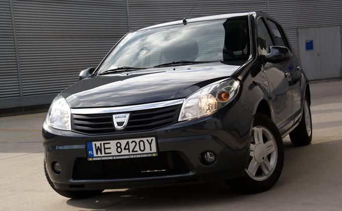 Dacia Sandero 1.2 lpg test